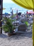 Вид на пляж из шейка