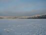 Вид на озеро Мохновское со стороны впадающего ручья. Болото подмерзло, так что выходили довольно смело. Приехали рано, на лед выходили еще затемно. Поставили ...