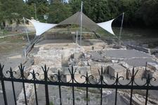 Римские бани,древние раскопки на территории г.Керкира