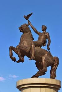 Скульптура Юность Бурятии