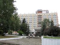 """гостиница """"Спасская"""". Вид с улицы"""