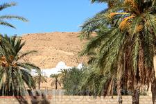 На заднем плане видно белое строение - это марабу - там захоронены святые... если пролететь над пустыней Матматы, можно увидеть 126 или 124 белоснежных ...