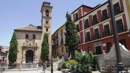 Granada - Plaza Santa Ana