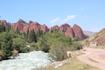Район жети-ёгус курорт .Красные скалы.Семь быков.