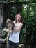Малыш варана в парке рептилий