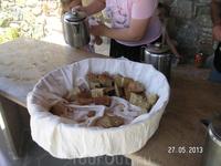 Монастырь Архангела Михаила. Монастырский хлеб