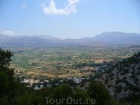 Плато Лассити 820-850 м над уровнем моря.