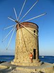 Одна из ветрянных мельниц