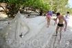 Играем в последнего героя -строим статуи из песка