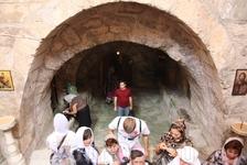 Пещера, где покоятся кости убиенных вифлеемских младенцев и мучеников