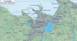 Карта Таллина на русском