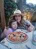И пицца там была тоже замечательная. Сыну очень понравилась :)
