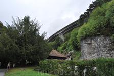 около Шильонского замка