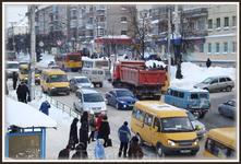у центрального рынка на Гагарина