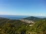 Вид на Будву с высоты около 1200 м.