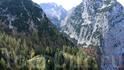 вид с канатки Alpspitzbahn