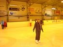 Вот так здорово я катаюсь на коньках
