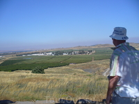 Голаны. База ООН. Голанские высоты  являются частью базальтового плато вулканического происхождения, общая площадь которого 35.000 кв.км. Геологи считают, что возраст Голан - около полутора миллионов