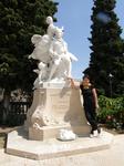 Памятник уроженцу Грасса художнику Фрагонару.