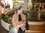 г. Нарва.  Маленькая передышка перед походом в очередной торговый центр )))