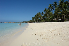 белый пляж
