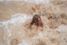 Песчаная буря в океане