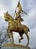 Жанна Д'Арк около Музея Искусств в Фили