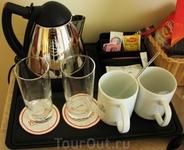 Набор для чая и кофе в номере