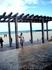в Плайя Дель Кармен очень красивый пляж, но сильные волны... песок белый, мелкий..на солнце не нагревается))