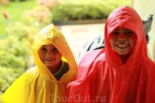 Дети в Колумбии очень открытые и жизнерадостные