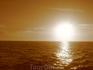Закат в Черном море ))
