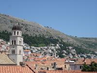 Дубровник, вид на город с крепостной стены