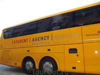 Автобус из Праги в Прешов - со стюардом, разными видами кофе, климат-контролем (Студенческое агентство - рекомендую. Поездки от этой фирмы по всей Евр