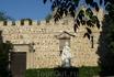 Центральная часть дворца. Перед дворцом статуя Хлоринды Кавы (Clorinda Cava), женщины, о которой я рассказывала выше