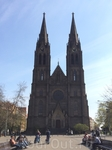 Костел Святой Людмилы на площади Мира