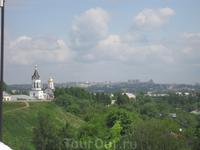 Панорама окрестностей от Успенского собора