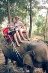 Мы на слонихе Пут