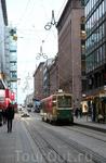 Трамваев в городе много.