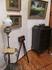 Комната В.А.Сатиной. Лампа-торшер. Фотоаппарат. Варвара Аркадьевна была заядлым фотографом. В углу шкафчик-граммофон с рекордами. Она очень ревностно следила ...