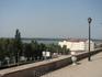 Вид который открывается на Волгу из Пушкинского сквера