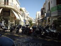 современный город Родос
