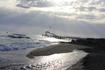 обратите внимание - это море, а в него очень буйно впадает речка Серапсу!!!))красиво)