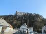 Вид на замок Раухенштайн ( Rauhenstein) XII век.
