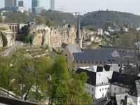 Вид на старую крепостную стену