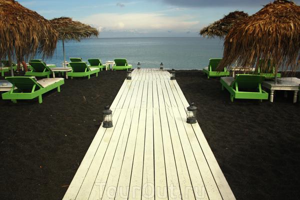 Черный пляж Санторини - Перисса