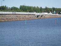 Мост въезда в город