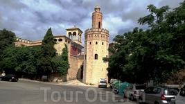 Pueblo Espanol - как в Севийе (Sevilla - Torro del Oro)
