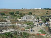 античные раскопки г.Херсонес