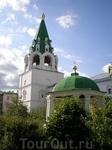 Свято-Троицкий Макарьевский желтоводский женский монастырь. Колокольня и ротонда.