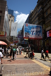 Торговые улочки Гонконга...